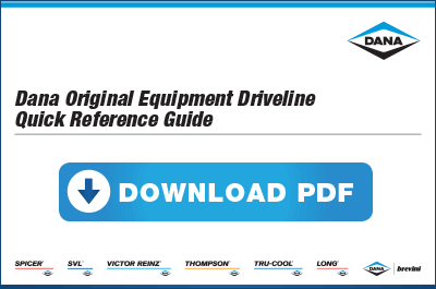 Download Dana Original Equipment Driveline Guide