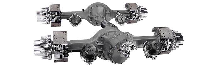 Single Axle Tandem : Drive axles steer driveshafts dana australia