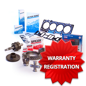 Dana Warranty Registration