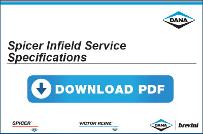 Download Spicer Infield Service Specifications