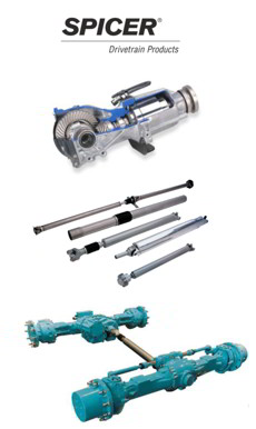 Spicer Drivetrain Products